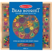 Εικόνα του Melissa & Doug Wooden Bead Set - Deluxe Bead Bouquet