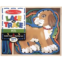 Εικόνα του Melissa & Doug Lace And Trace Panels - Pets