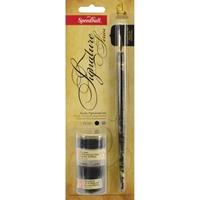 Εικόνα του Speedball Signature Series Calligraphy Set - Σετ Καλλιγραφίας Black Edition