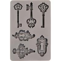 Εικόνα του Καλούπια Σιλικόνης Finnabair Decor Moulds  - Keys