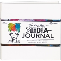 "Εικόνα του Dina Wakley Media White Journal 6""X6"""