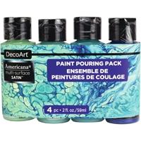 Εικόνα του Σετ Ακρυλικά Χρώματα Americana Multi-Surface Paint Pouring Pack - Coastal