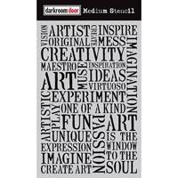 Εικόνα του Darkroom Door Stencil - Creativity
