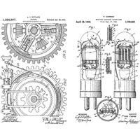 """Εικόνα του Tim Holtz Cling Stamps 7""""X8.5"""" - Inventor #7"""