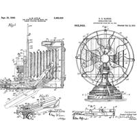 """Εικόνα του Tim Holtz Cling Stamps 7""""X8.5"""" - Inventor #8"""