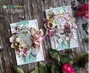 Maria Lillepruun's Boho Spring Cards