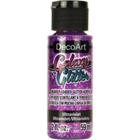 Εικόνα του DecoArt Galaxy Glitter Acrylic Paint - Ultraviolet