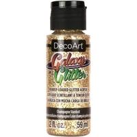 Εικόνα του DecoArt Galaxy Glitter Acrylic Paint - Champagne Stardust