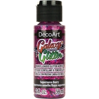 Εικόνα του DecoArt Galaxy Glitter Acrylic Paint - Supernova Berry