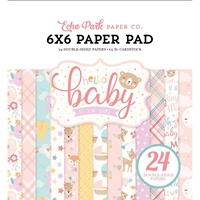 """Εικόνα του Echo Park Double-Sided Paper Pad 6""""X6"""" - Hello Baby Girl"""