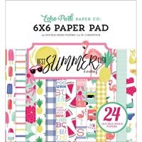 """Εικόνα του Echo Park Double-Sided Paper Pad 6""""X6"""" - Best Summer Ever"""