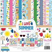"Εικόνα του Echo Park Collection Kit 12""X12"" - I Love Summer"