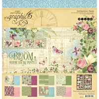 "Εικόνα του Graphic 45 Collection Pack 12""X12"" - Bloom"