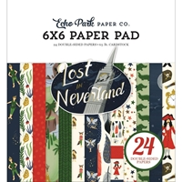 "Εικόνα του Echo Park Double-Sided Paper Pad 6""X6"" - Lost In Neverland"