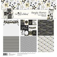 "Εικόνα του Simple Stories Simple Sets Collection Kit 12""X12"" - Con-GRAD-ulations"