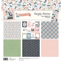 "Εικόνα του Simple Stories Simple Sets Collection Kit 12""X12"" - Mom's Day"