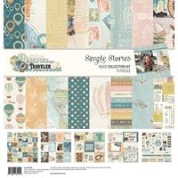 """Εικόνα του Simple Stories Collection Kit 12""""X12"""" - Simple Vintage Traveler"""