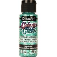 Εικόνα του DecoArt Galaxy Glitter Acrylic Paint - Aqua Meteor