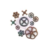 Εικόνα του Μεταλλικά Διακοσμητικά Finnabair Mechanicals - Rusty Knobs