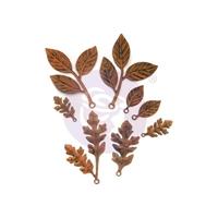 Εικόνα του Μεταλλικά Διακοσμητικά Finnabair Mechanicals - Woodland Leaves