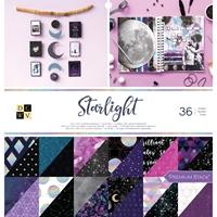 """Εικόνα του DCWV Double-Sided Cardstock Stack 12""""X12"""" - Starlight"""
