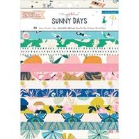 """Εικόνα του Crate Paper Single-Sided Card Making Pad 6""""X8"""" - Maggie Holmes Sunny Days"""