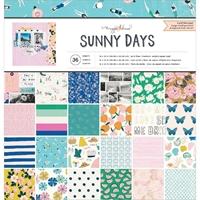 """Εικόνα του Crate Paper Single-Sided Card Making Pad 12""""X12"""" - Maggie Holmes Sunny Days"""