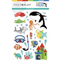 Εικόνα του Fish Tales Puffy Stickers