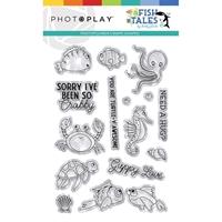 Εικόνα του PhotoPlay Photopolymer Stamp - Fish Tales