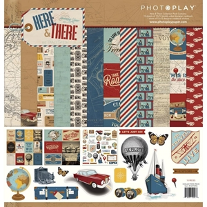 "Picture of PhotoPlay Collection Pack 12""X12"" - Here & There"