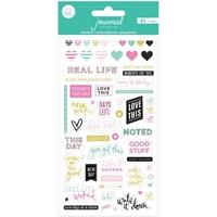 Εικόνα του Heidi Swapp Journal Studio Puffy Stickers - Good Stuff