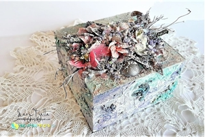 Altered Box by Mary Tzalla