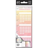 Εικόνα του Happy Planner Mini Half Sheet Fill Paper - Habit Tracker