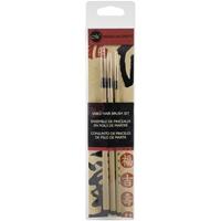 Εικόνα του Manuscript Sable Hair Brush Set 3/Pkg - Σετ Πινέλων Καλλιγραφίας