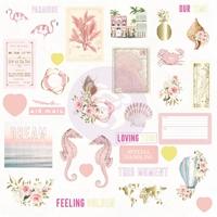 Εικόνα του Prima Marketing Golden Coast Cardstock Ephemera