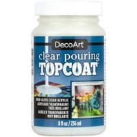 Εικόνα του DecoArt Clear Pouring Top Coat 8oz