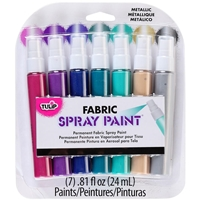 Εικόνα του Tulip Fabric Spray Paint Mini Pack - Metallic