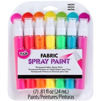 Εικόνα του Tulip Fabric Spray Paint Mini Pack - Neon