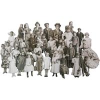 Εικόνα του Tim Holtz Idea-Ology Baseboard Dolls
