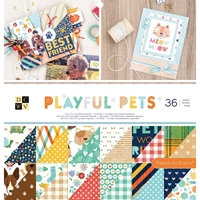 "Εικόνα του DCWV Double-Sided Cardstock Stack 12""X12"" - Playful Pets"