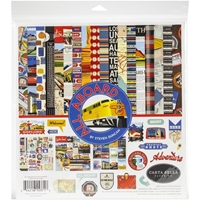 "Εικόνα του Carta Bella Collection Kit 12""X12"" - All Aboard"