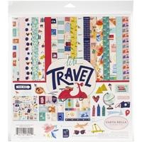 """Εικόνα του Carta Bella Collection Kit 12""""X12"""" - Let's Travel"""