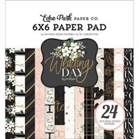 """Εικόνα του Echo Park Double-Sided Paper Pad 6""""X6"""" - Wedding Day"""