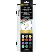 Εικόνα του Brea Reese Watercolor Pan Paint Set - Metallic