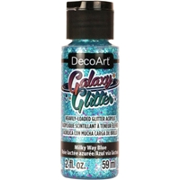 Εικόνα του DecoArt Galaxy Glitter Acrylic Paint - Milky Way Blue