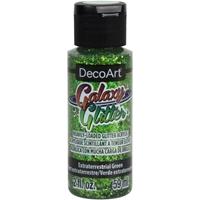 Εικόνα του DecoArt Galaxy Glitter Acrylic Paint - Extraterrestrial Green
