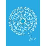 """Εικόνα του Americana Mixed Media Stencil 6""""X8"""" - Dandelion"""