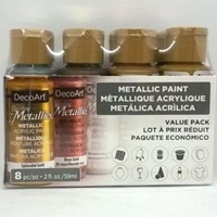 Εικόνα του Americana Dazzling Metallics Value Pack 8/Pkg