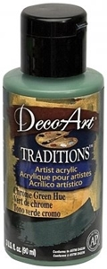 Picture of DecoArt Ακρυλικά Χρώματα Traditions Chrome Green Hue