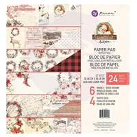 "Εικόνα του Prima Marketing Μπλοκ Scrapbooking 12""X12"" - Christmas In The Country"